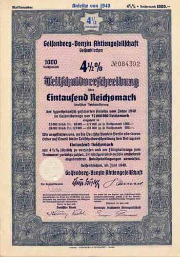 Gelsenberg-Benzin