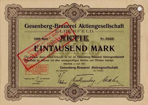 Gesenberg-Brauerei