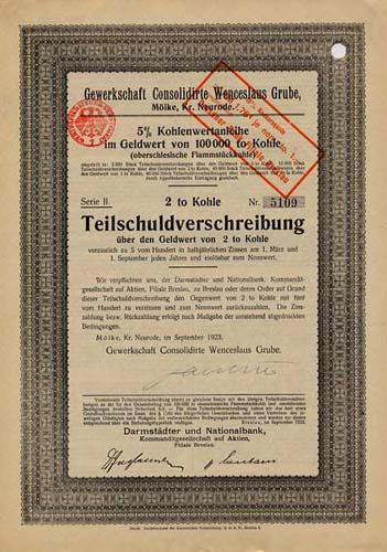Gewerkschaft Consolidirte Wenceslaus Grube