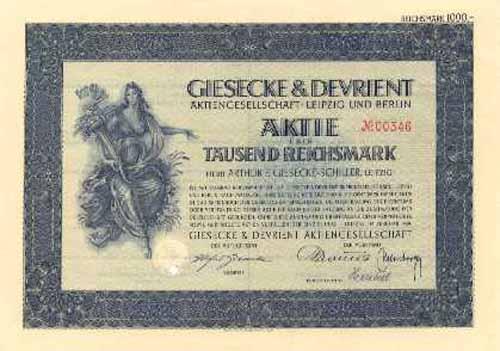 giesecke & devrient aktie