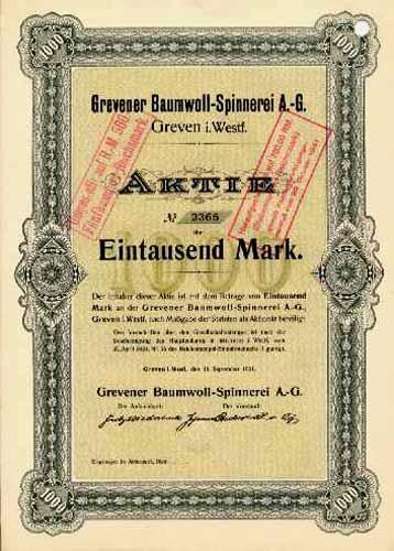 Grevener Baumwoll-Spinnerei