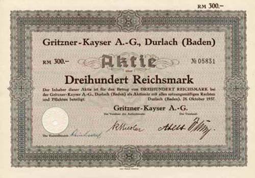 Gritzner-Kayser
