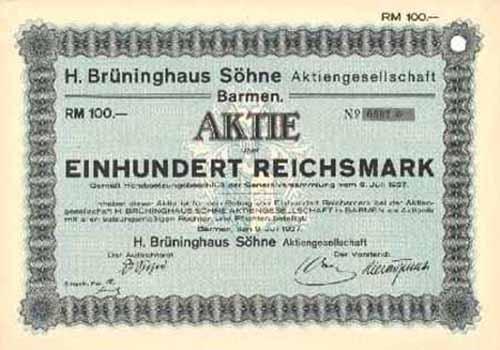 H. Brüninghaus Söhne