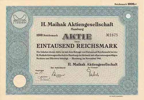 H. Maihak