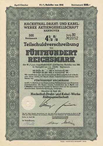 Hackethal-Draht- und Kabel-Werke