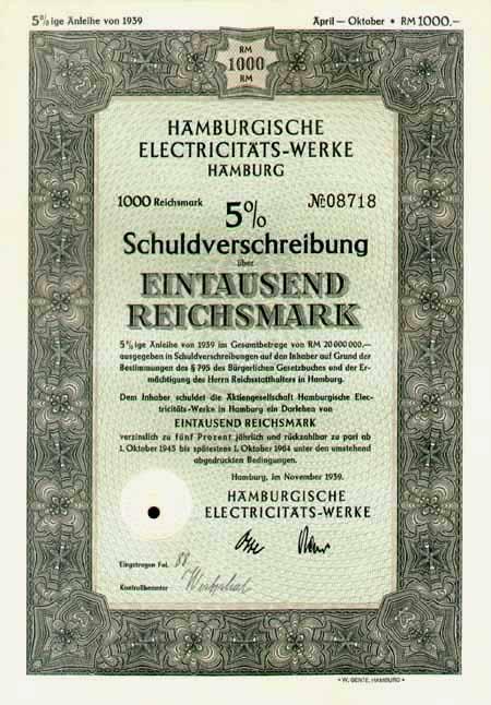 Hamburgische Electricitäts-Werke