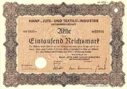 Hanf-, Jute- und Textilit-Industrie