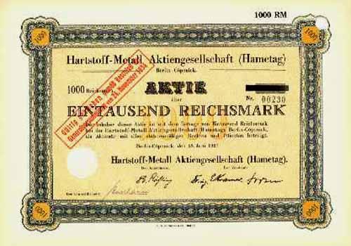 Hartstoff-Metall (Hametag)