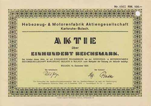 Hebezeug- & Motorenfabrik
