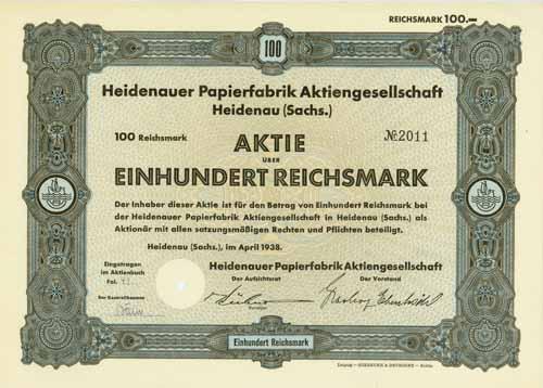Heidenauer Papierfabrik