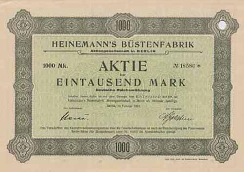Heinemann's Büstenfabrik