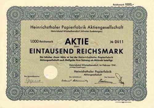 Heinrichsthaler Papierfabrik