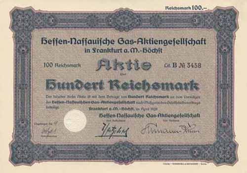 Hessen-Nassauische Gas-AG