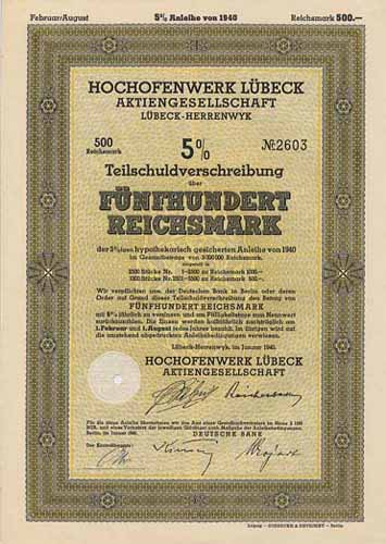 Hochofenwerk Lübeck