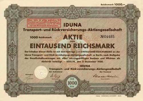 IDUNA Transport- und Rückversicherungs-AG