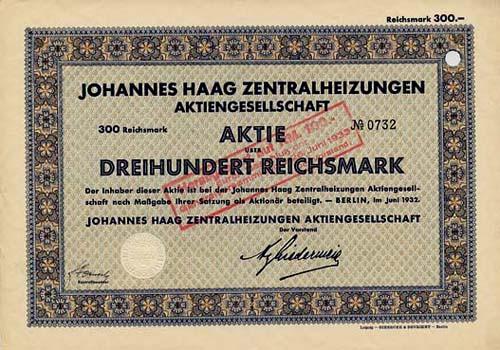 Johannes Haag Zentralheizungen