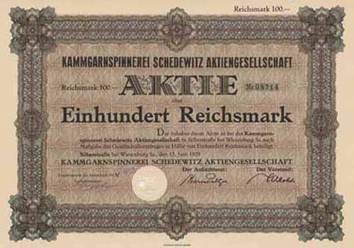 Kammgarnspinnerei Schedewitz