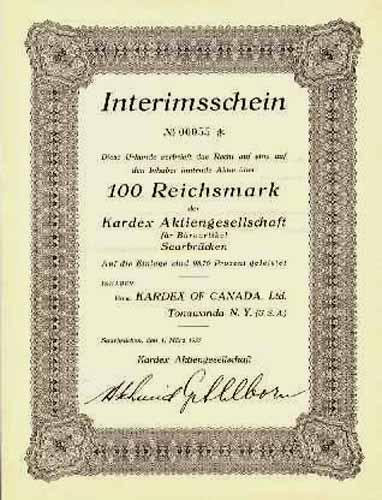 Kardex AG für Büroartikel
