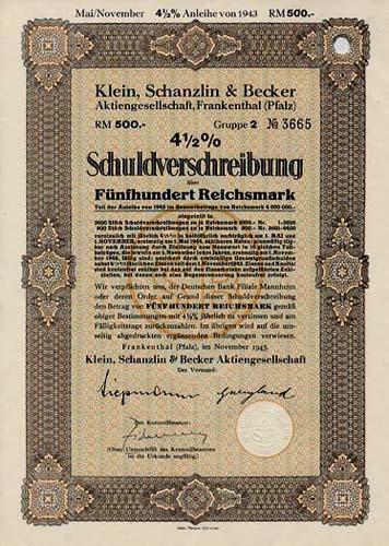 Klein, Schanzlin & Becker