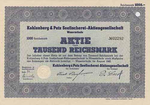 Kohlenberg & Putz Seefischerei-AG