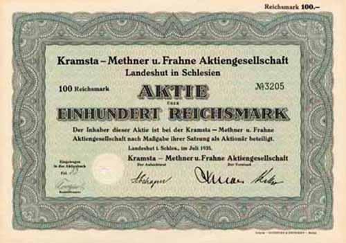 Kramsta-Methner u. Frahne