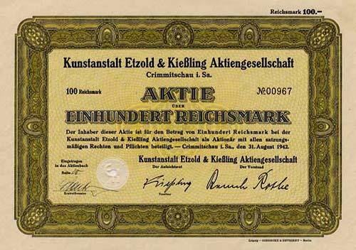 Kunstanstalt Etzold & Kießling