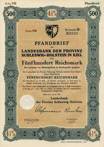 Landesbank der Provinz Schleswig-Holstein