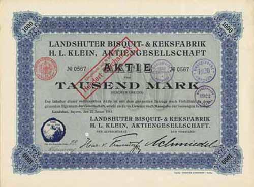 Landshuter Bisquit- & Keksfabrik