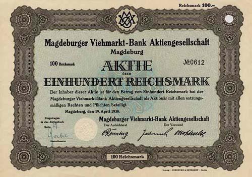 Magdeburger Viehmarkt-Bank