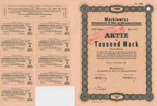 Markiewicz AG für Möbel und Wohnungseinrichtungen