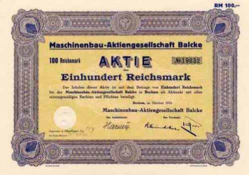 Maschinenbau-AG Balcke