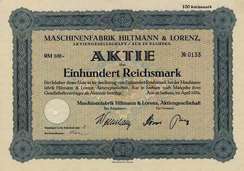 Maschinenfabrik Hiltmann & Lorenz