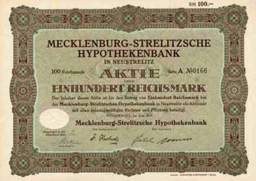 Mecklenburg-Strelitzsche Hypothekenbank