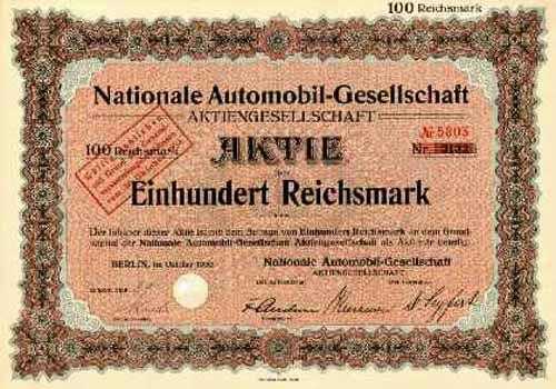 Nationale Automobil-Gesellschaft