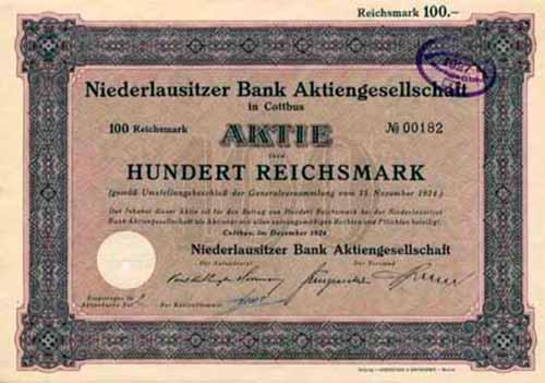 Niederlausitzer Bank