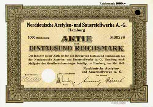 Norddeutsche Acetylen- und Sauerstoffwerke