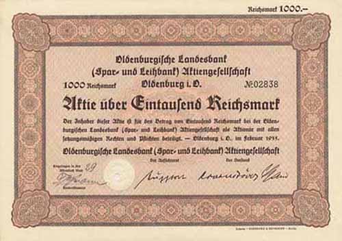 Oldenburgische Landesbank (Spar- und Leihbank)