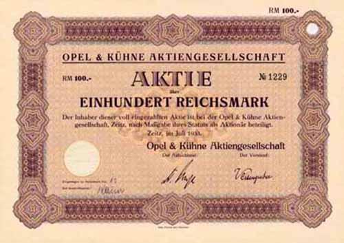 Opel & Kühne
