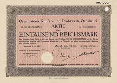 Osnabrücker Kupfer- und Drahtwerk