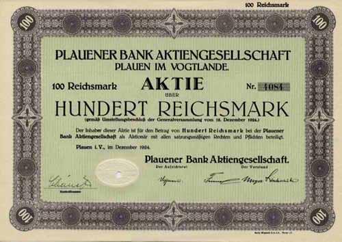 Plauener Bank