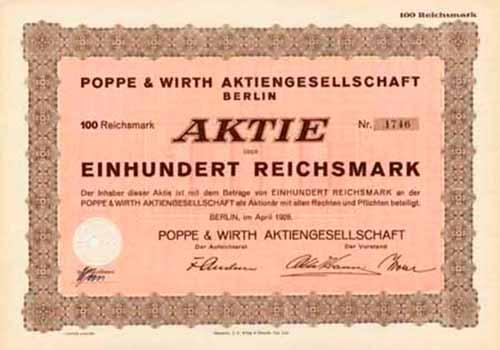 Poppe & Wirth