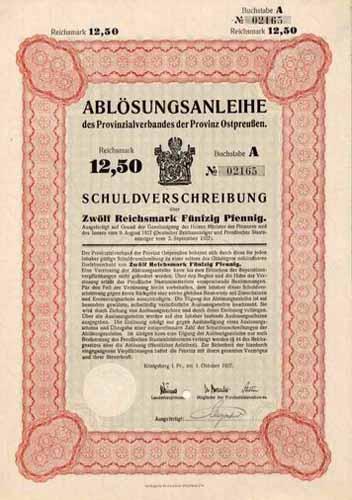 Provinzialverband der Provinz Ostpreussen
