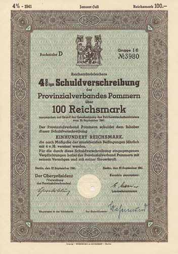 Provinzialverband Pommern