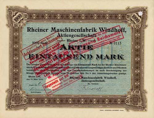 Rheiner Maschinenfabrik Windhoff
