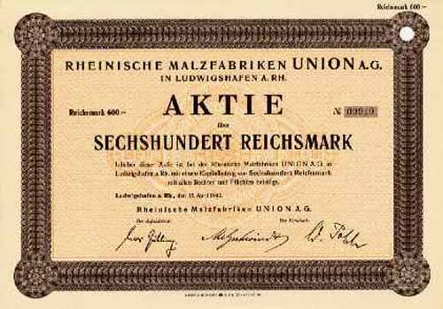 Rheinische Malzfabriken UNION