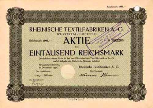Rheinische Textilfabriken