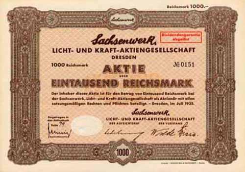 Sachsenwerk, Licht- und Kraft-AG