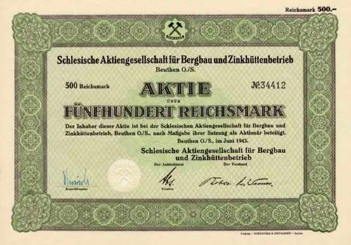 Schlesische AG für Bergbau und Zinkhüttenbetrieb