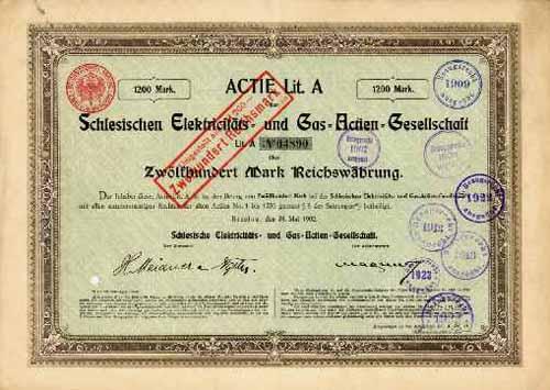 Schlesische Elektricitäts- und Gas-AG