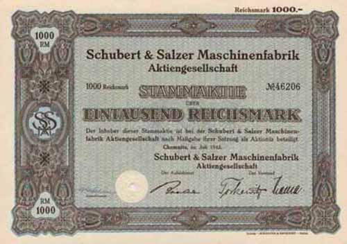Schubert & Salzer Maschinenfabrik